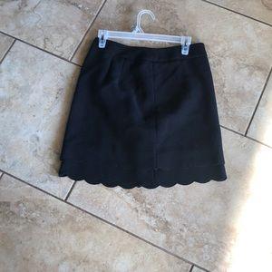 Black skirt loft size 3 euc